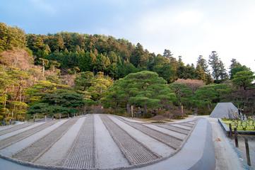 慈照寺 銀閣寺の日本庭園