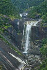 The Senpiro Falls on Yakushima Island, Japan