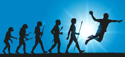 Handball - Hommes évolution - Sport