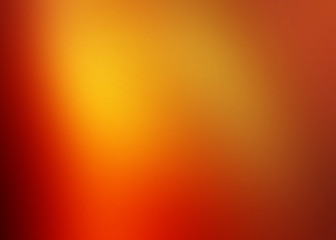Abstract background in orange, yellow and red colors