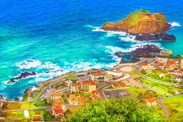 Wall Mural - Porto Moniz, Madeira island, Portugal