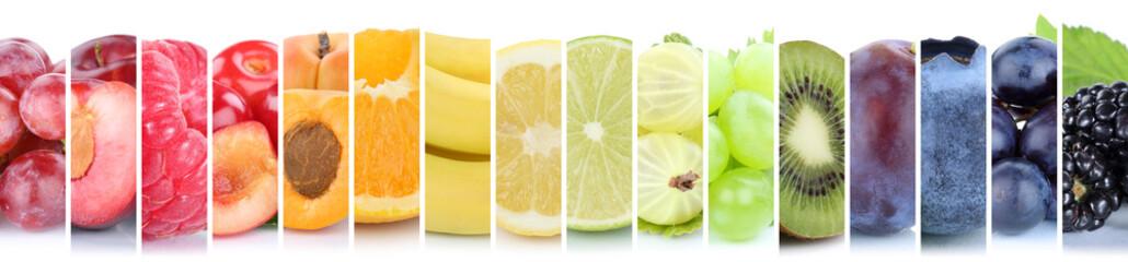 Früchte Frucht Obst Gruppe Sammlung Farben bunt Orange Beeren