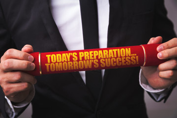 Today's Preparation... Tomorrow's Success!