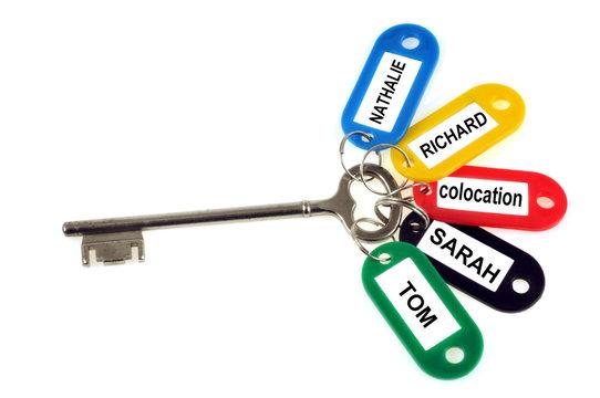 La clé de la colocation