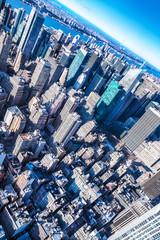 skyscrapers of manhattan, new york