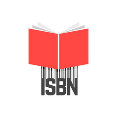 red book with isbn bar code