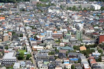 首都圏の住宅街