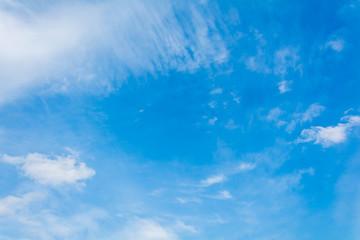 blue sky cloud on air