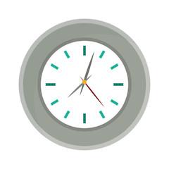 wall clock icon image vector illustration design
