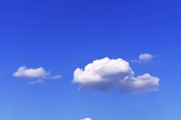 blue sky with cloud closeup.Closeup blue sky and fluffy clouds b