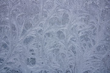 Closeup of frosted glass texture