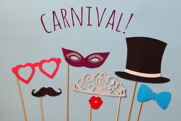 carnival party celebration concept