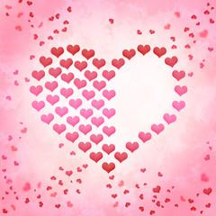 Valentinstag Hintergrund Herzen