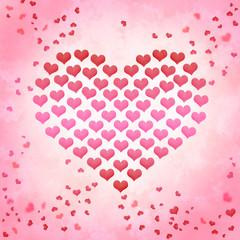 Valentinstag Hintergrund Liebe Herz