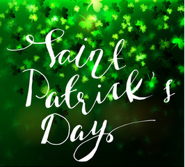 Illustration of saint Patricks day