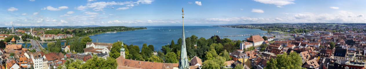 Konstanz am Bodensee - Panorama