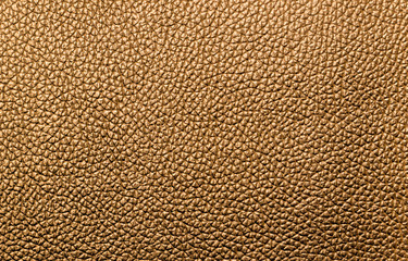 Empty yellow, ocher leather abstract texture for pattern and background.