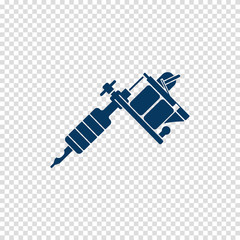 tattoo machine vector icon