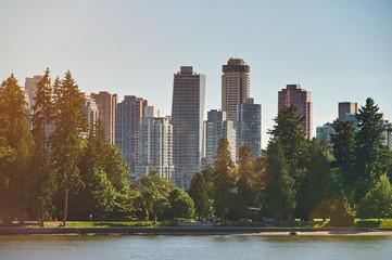 Modern city park