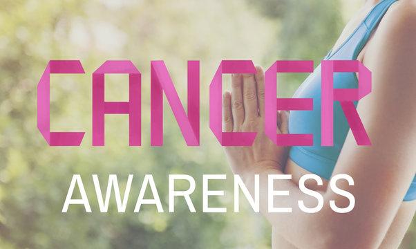 Cancer Awarness Female Issue Illness Concept