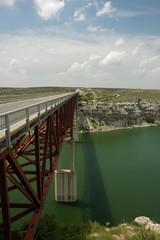 Bridge Over Green Waters