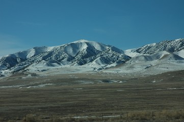 Snow Capped Mountains of Utah