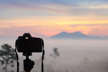 Camera in nature