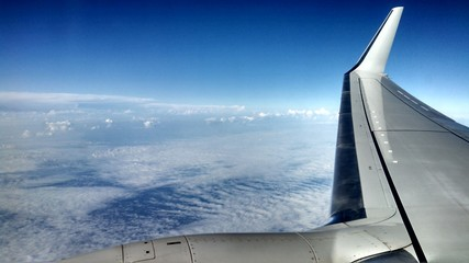 A Wing Over the Clouds