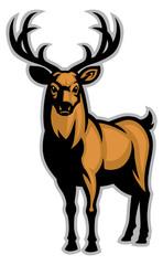 Buck mascot