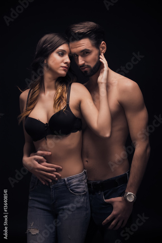 Sexy images of man and woman