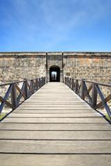 Eingang zum Castillo del Morro, Santiago de Cuba, Kuba