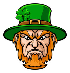 Tough Leprechaun Macot