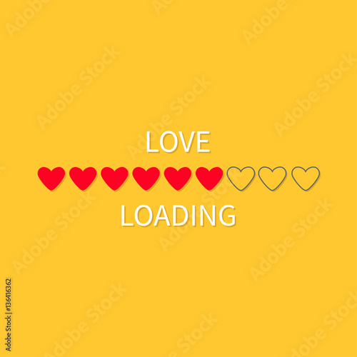 Progress status bar icon love loading collection red heart funny love loading collection red heart funny happy valentines day voltagebd Choice Image