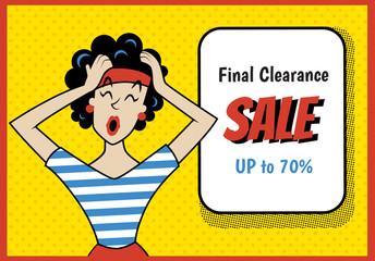 retro sale new