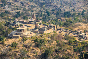 Temples of .Fort Kumbhalgarh, India