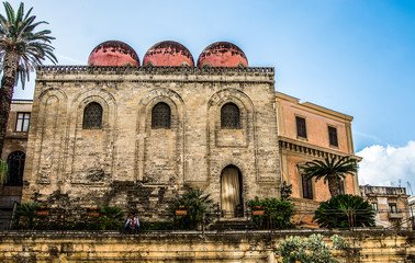 La pose en embrasure Palerme Chiese di Palermo