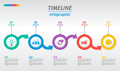Minimal infographics tab design. Can be used for workflow layout, diagram, web design.