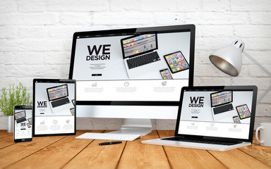 Wall Mural - we design screen multidevices