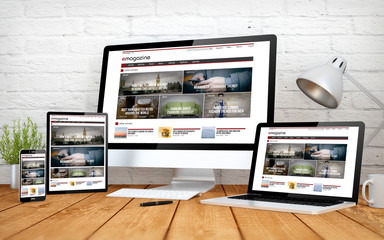 e-magazine screen multidevices