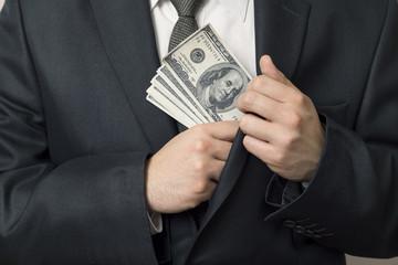 Taking a bribe