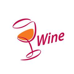 vector wine logo