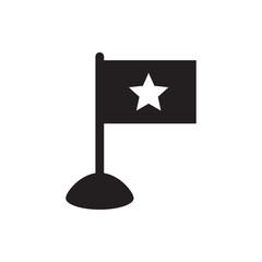 flag icon.