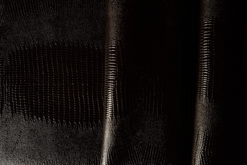 dark leather texture background close up macro