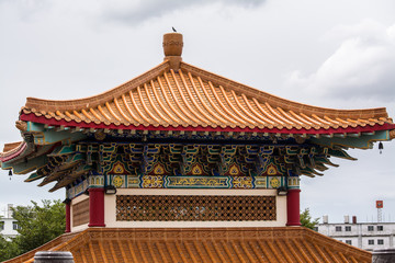 Chinese art in a temple