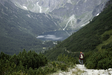 walk from Slovakia to Poland by the high Tatras