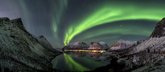 Fotobehang Noorderlicht Polarlicht