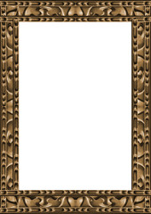 Wooden Ornamented Frame