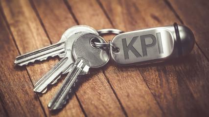 porte-clés métal : KPI