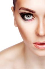 Photo of naked girl close-up