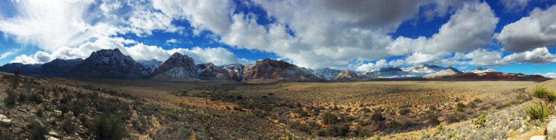 Redrock Canyon Nevada Panorama